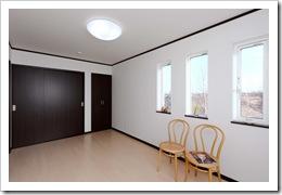 091217 津嶋工務店 江別市 モデルハウス 2階洋室