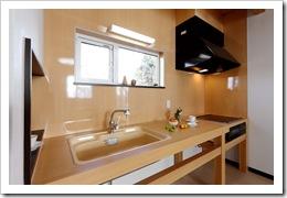 091217 津嶋工務店 江別市 モデルハウス キッチン